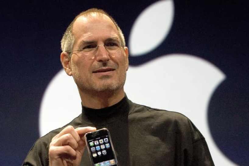 Tecnología de CNBC: iPhone de Steve Jobs