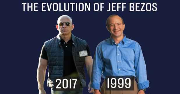 Resultado de imagen para jeff bezos 2017