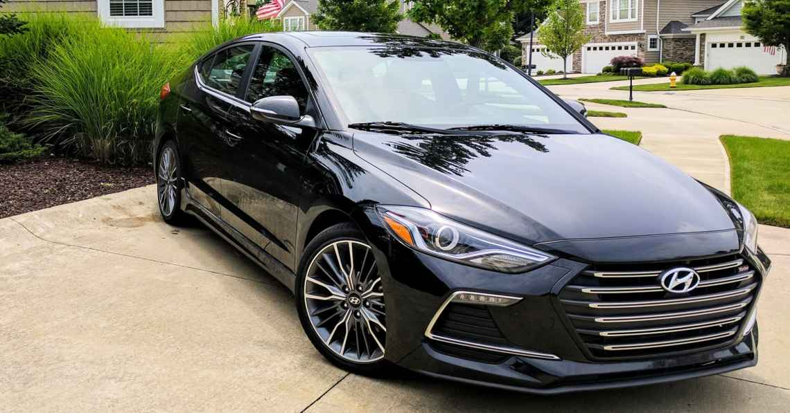 2017 hyundai elantra sport review: a lot to like but little to love