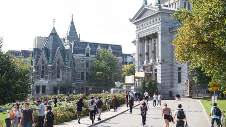 Πανεπιστήμιο McGill στο Μόντρεαλ του Καναδά.