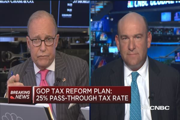 GOP Tax reform plan includes massive cut for most ...