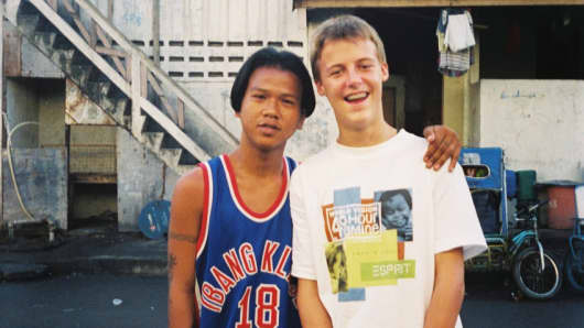Hugh Evans: Sonny Boy from Manila inspired me to start ...