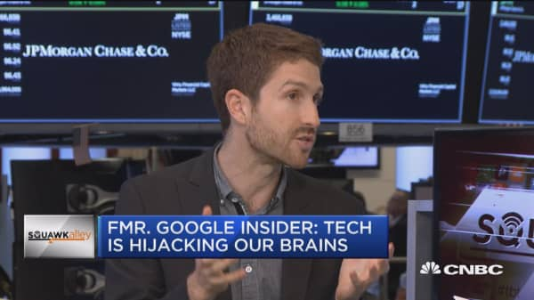 Former Googler: Tech is hijacking our brains