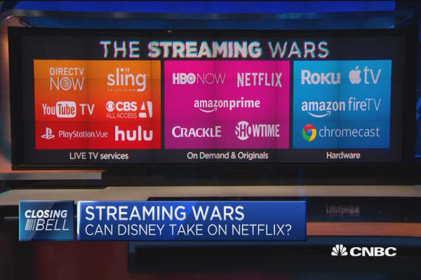 Will Disney's streaming service be able to compete with ...