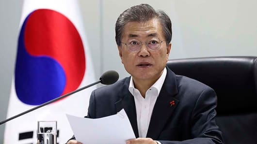 South Korea's President: We will not give up goal of ...