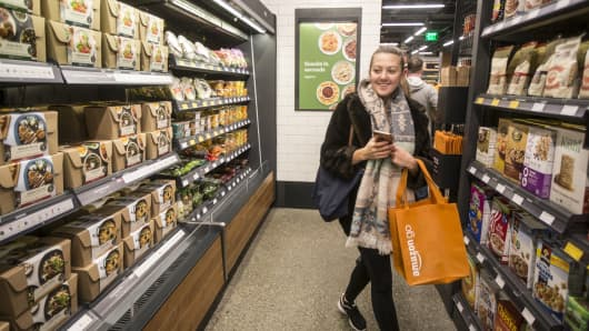 After more than a year in beta, Amazon opened their cashier-less grocery store to the public