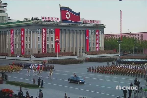 North Korea parade hints at 'key vulnerability' in regime's ICBM force, says defense experts
