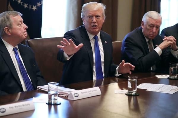Trump administration criticizes Senate DACA immigration plan