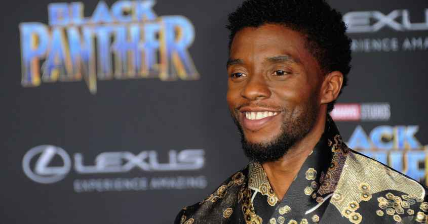 """Black Panther"" star Chadwick Boseman"