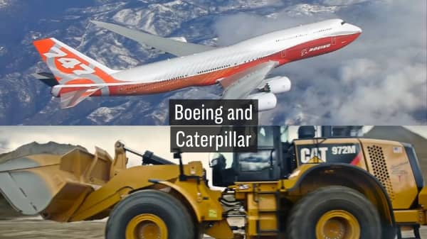 Image result for boeing and caterpillar