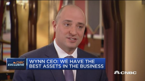 Business valued on its assets, and we have best in business: Wynn CEO