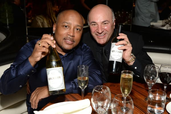 Daymond John (L) and Kevin O'Leary attend the W Los Angeles - West Beverly Hills and STK Los Angeles Reveal Event at W Los Angeles - Westwood on June 25, 2015 in Los Angeles, California.