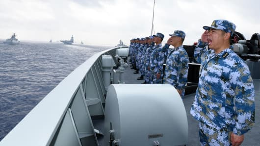 Image result for chinese military west philippine sea