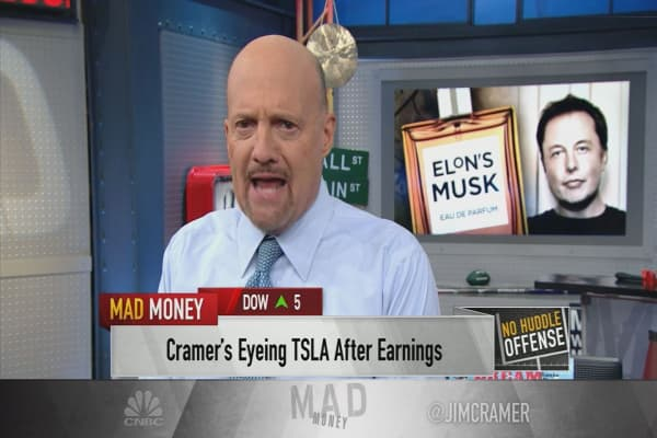 Cramer thanks Elon Musk 'for telling the truth' after ...