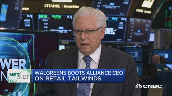 Walgreens Boots Alliance CEO: About 70 percent of our sales are from pharmacy, not front-end