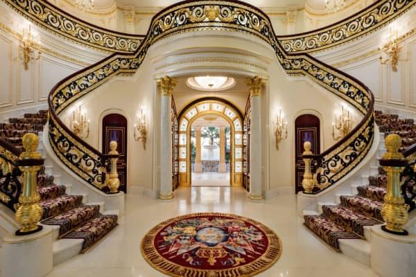 Florida Versailles Mansion Inside