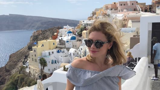 During a recent vacation in Greece, I found that I took fewer pictures because I wasn't trying to keep my feeds up to date. It helped me be more present.