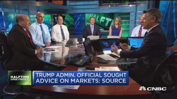 Trump administration asks investor for advice on stock markets