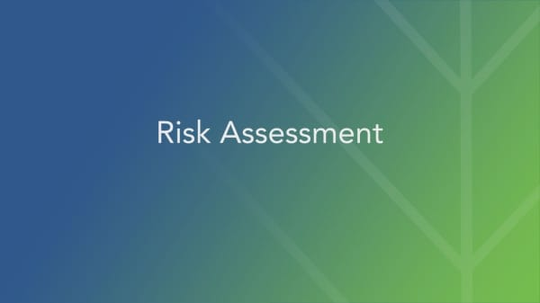 Gauging your risk assessment