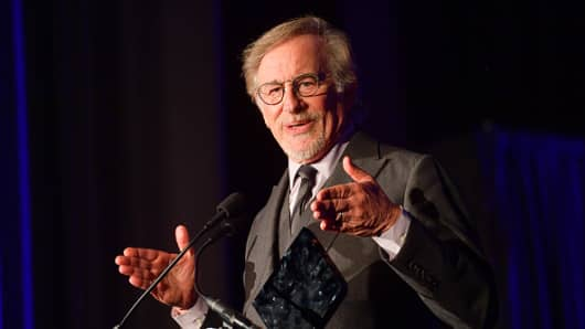 Steven Spielberg attends the 55th Annual Audio Cinema Society Awards at the InterContinental Los Angeles Downtown on February 16, 2019 in Los Angeles, California.