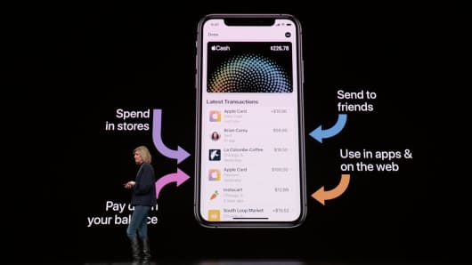 Apple Cash unveiled at the Apple Spring event on March 25th, 2019.