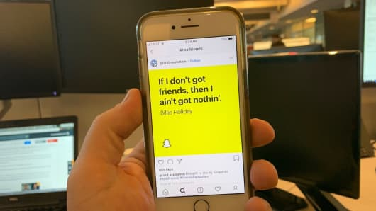 Examples of Snap's new