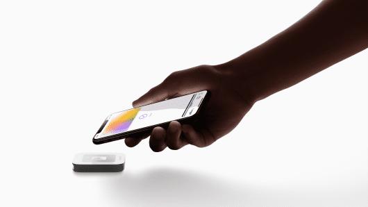 Apple card transaction