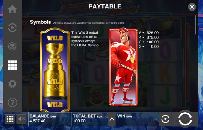 Hockey Hero Gewinne