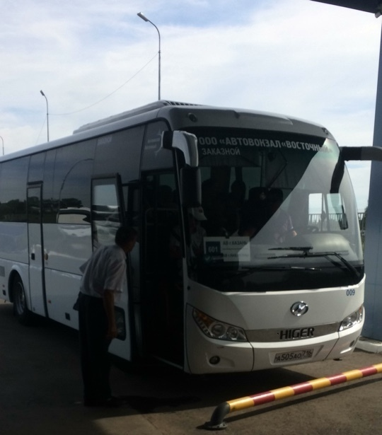 Автобусы Казань- Набережные Челны