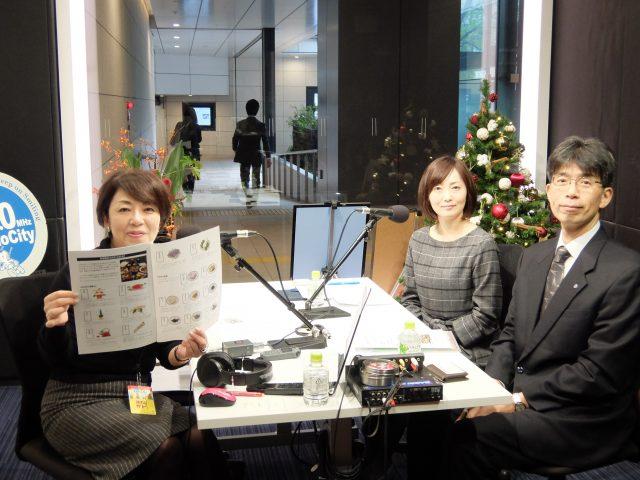 日本の食文化・おせち料理を築地から発信してきた『紀文食品』さんがスタジオにご登場!☆お花のお話「C'mon A Kamon」☆今晩19:00から「東京エキマチライブ」開催!