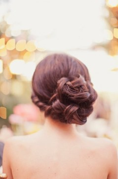 3. braided bun