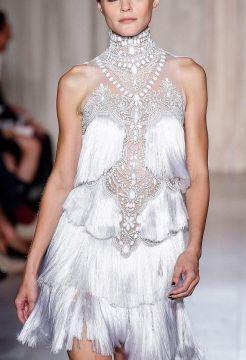 Marchesa Flapper dress.