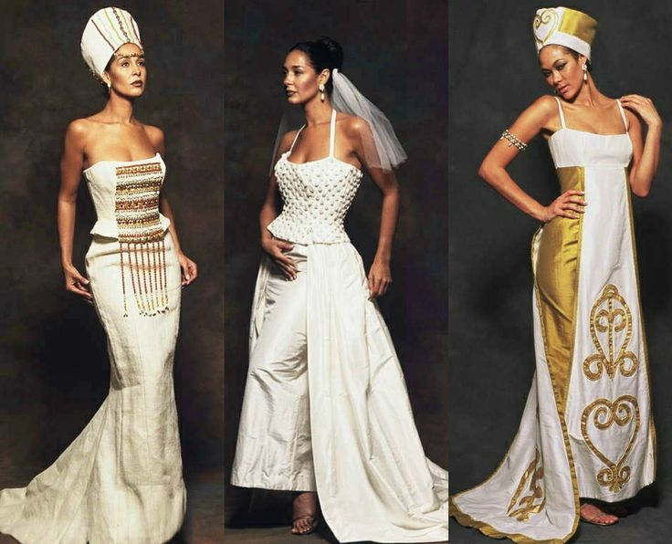 african-wedding-dresses21 African Wedding Dress-20 Outfits to Wear for an African Wedding