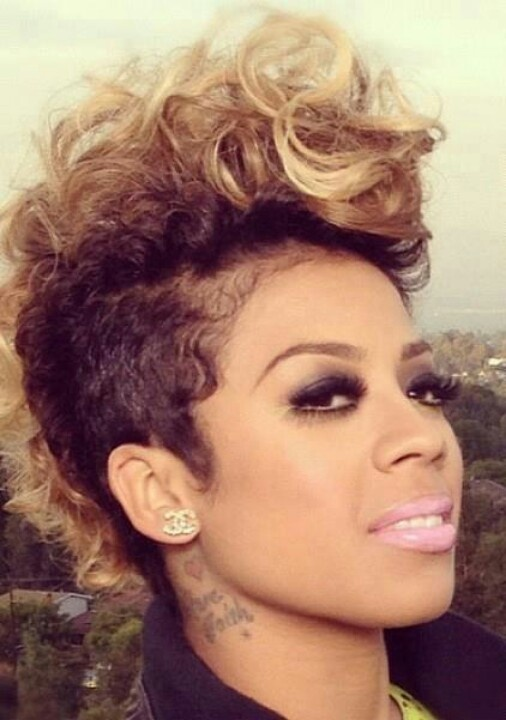 Cool She Makes Anything Look Good 15 Of Keyshia Cole39S Best Hairstyles Short Hairstyles Gunalazisus