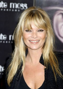 kate moss long layered hair