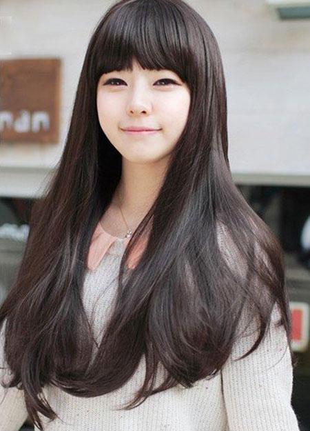 5 Best Korean Hairstyles for Long Hair - FMag.com