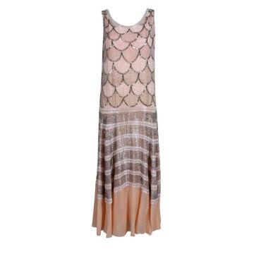 long flapper dress