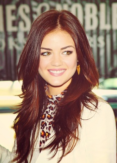 lucy hale long layers