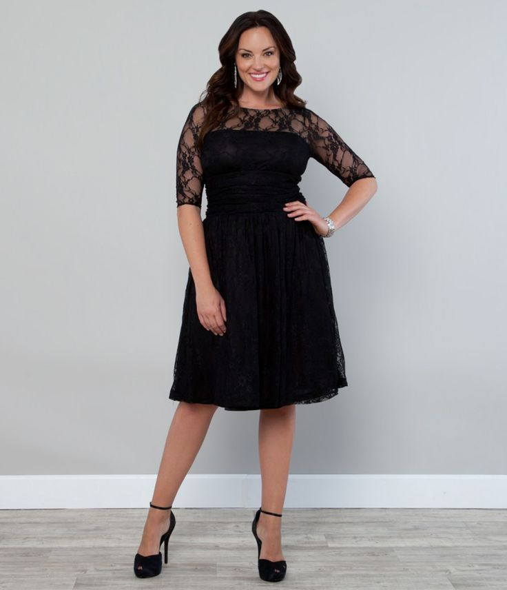 The Perfect Plus Size Little Black Dress for Every Occasion ...