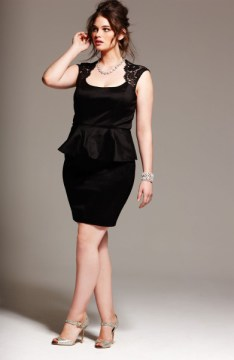 plus size bodycon peplum