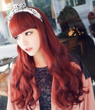 redhead baby doll style with headband