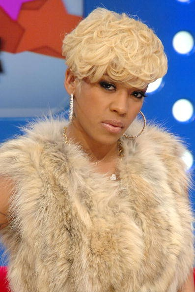 hair blonde Keyshia short cole