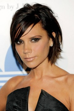 short layers victoria beckham