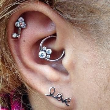 cute daith piercing