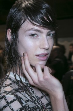 copper beautiful nail designs from 3.1 Phillip Lim