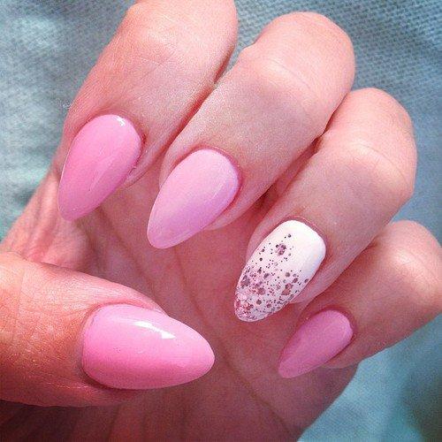 Easy Pink Nail Designs Fmag