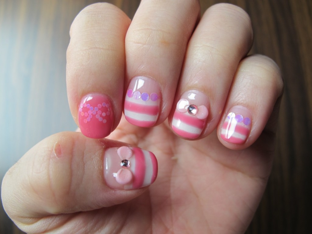Stunning pink white nails designs ideas fmag sweet pink and white nails prinsesfo Gallery