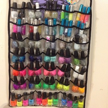 nail polish clear organizer