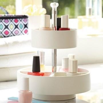 nail polish storage minimalistic stand