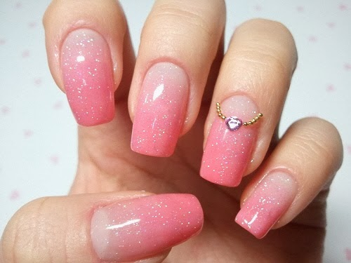 Stunning Pink & White Nails Designs & Ideas   FMag.com